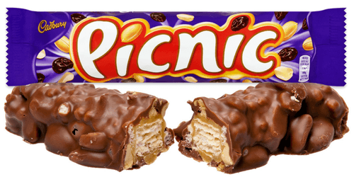 Cadbury Picnic British Chocolate Bar
