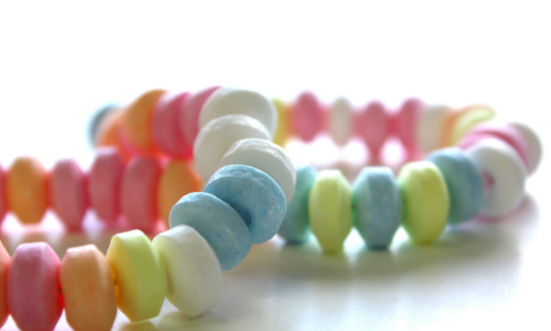 Candy Necklaces-Top 10 Candies from the 1950's