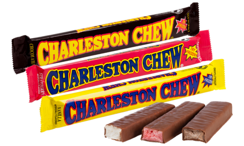 Charleston Chew Candy Bars-Top 10 Candies of the 1920's