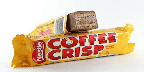 Coffee Crisp Canadian Chocolate Bar-Sweet Talk Blog-Candy District
