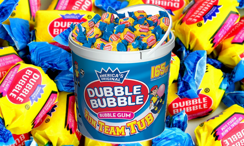 Dubble Bubble Bubblegum-Top 10 Candies of the 1920's
