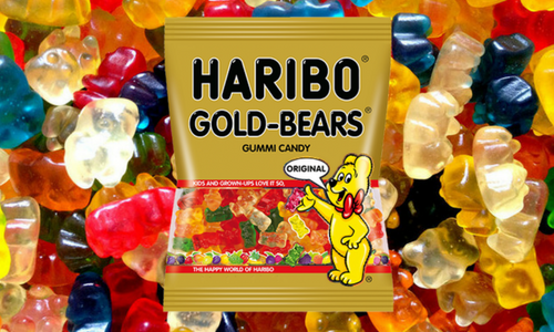 Haribo Gold Bears-Top 10 Candies of the 1920's