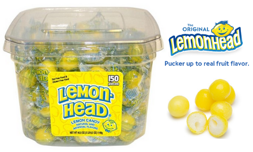 Lemon-Head Candy-Top 10 Retro Candies from the 1960's