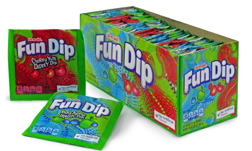 Lik-M-Aid Fun Dip Candy-Top 10 Candies from the 1940's