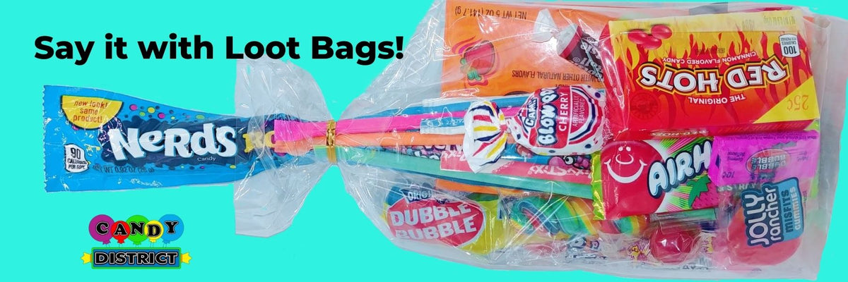 Loot Bags Party Favours Candy District Online Candy Store