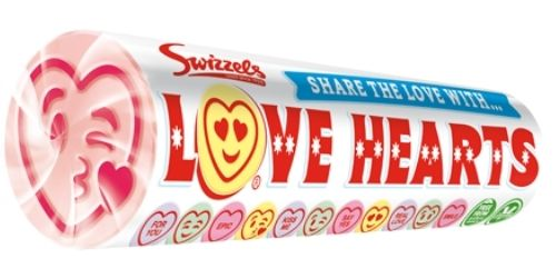Love Hearts Candy Rolls Top 12 Valentine's Candies Candy District