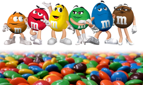 M&M's Chocolate Candy-Top 10 Candies of the 1940's