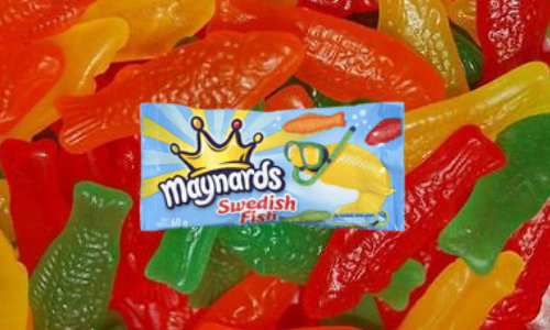 Maynards Swedish Fish Retro Candy-Top 10 Candies from the 1960's
