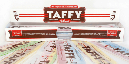 McCraws Old Fashioned Taffy National Candy Month 2017