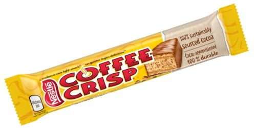Nestle Coffee Crisp Canadian Candy Bar