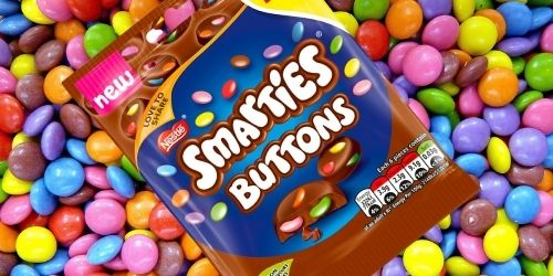 Nestle Smarties Milk Chocolate Buttons British Candy Top 12 New Candies from 2020 Candy District