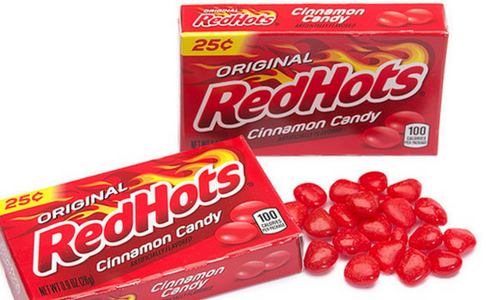 Red Hots Old Fashioned Candy-Top 10 Candies from the 1930's
