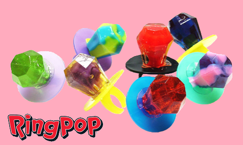 Ring Pop-Top 10 Retro Candies from the 1970's