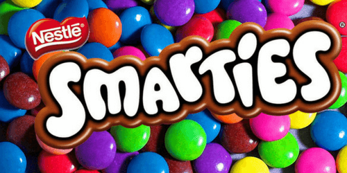 Smarties Candy Coated Chocolates-Canadian Candies