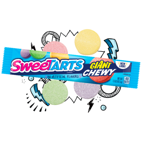 Top 10 Retro Candies from the 1990's-Sweetarts Giant XChewy