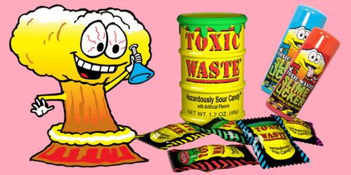 Toxic Waste Candy Sweet Talk Blog