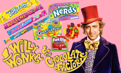 Wonka Candy Are Pure Imagination National Candy Month