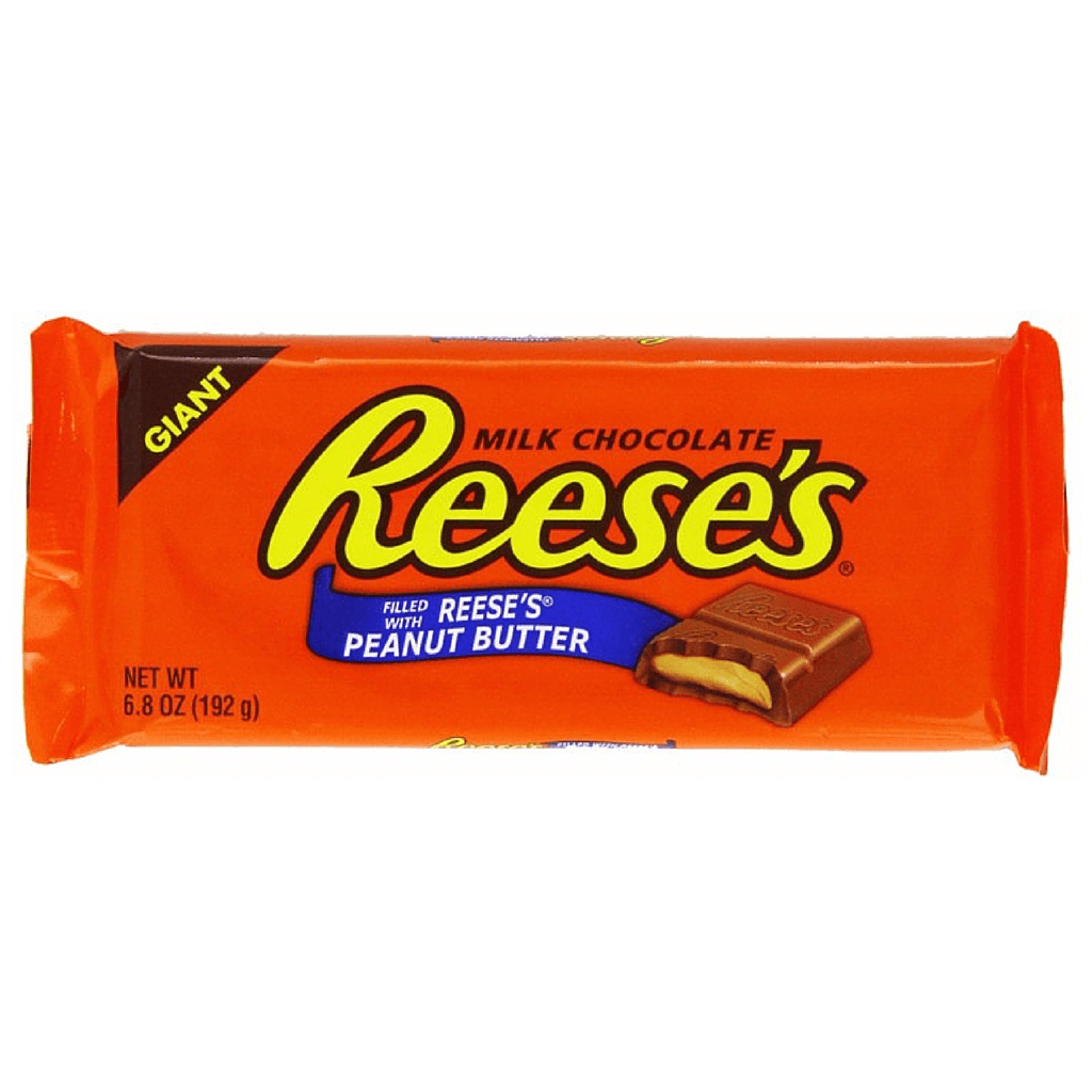 Reeses Milk Chocolate Peanut Butter Giant Bar-American Chocolate Bar