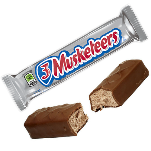 3 Musketeers Chocolate Bars-Old Fashioned Candy-Candy Canada