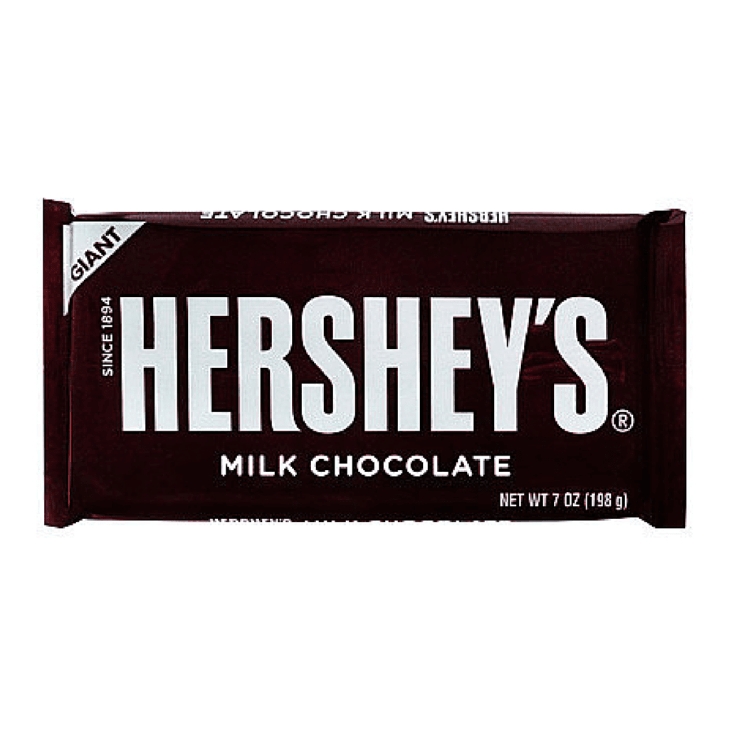 hershey's milk chocolate giant bar
