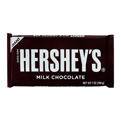 Hershey's Milk Chocolate Giant Bar 198g