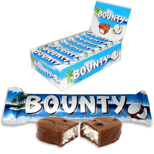 Bounty-Coconut Chocolate Bar-Canadian Chocolate Bar