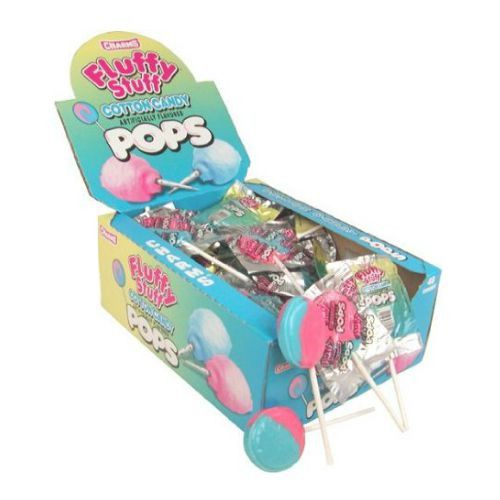 Charms Fluffy Stuff Cotton Candy Box of 48 Candy District