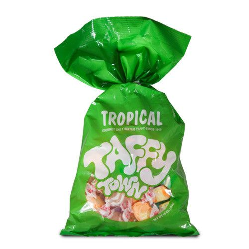 Taffy Town Tropical Flavours Taffy 16oz Bag Candy District