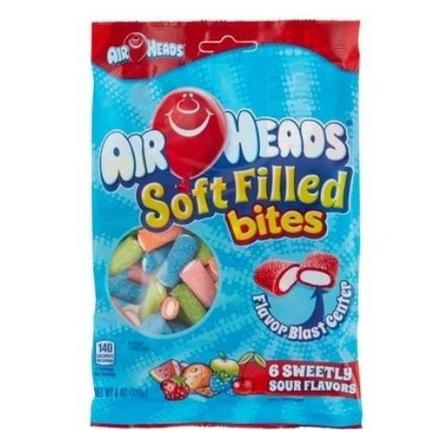 Airheads Soft Filled Bites Candy - 170 g