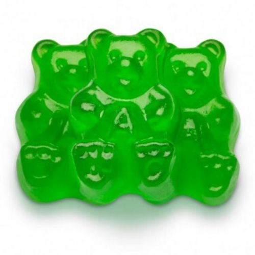 Albanese Green Apple Gummi Bears-5 lbs | Bulk Candy