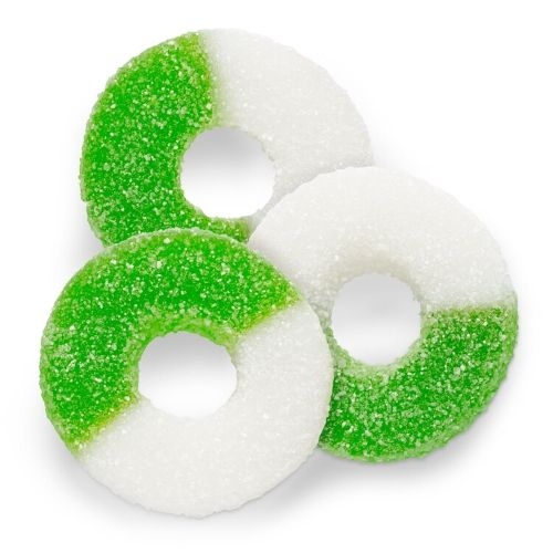 Albanese Gummi Apple Rings-4.5 lbs | Gummy Candy