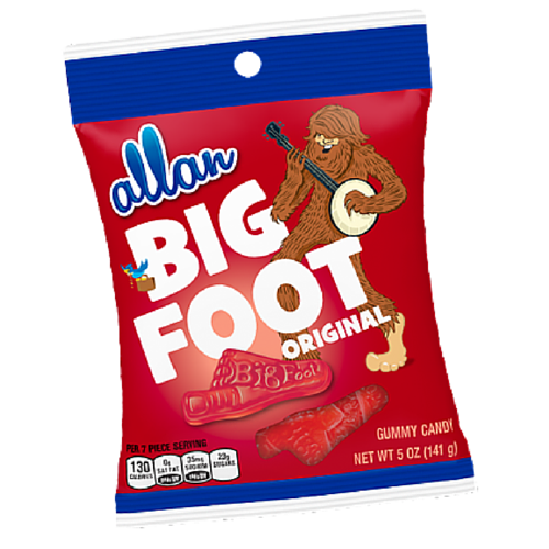 Allan Big Foot Original Old Fashioned Candy