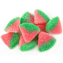 Allan Sour Watermelon Slices Bulk Candy