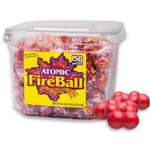 Atomic Fireball Cinnamon Jawbreakers-Retro Candy