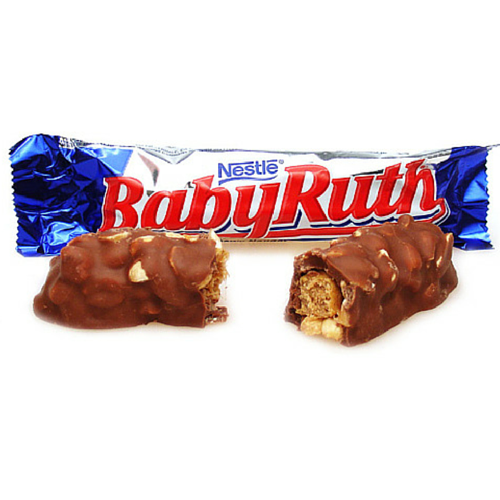 Baby Ruth-American Chocolate Bar-Retro Candy