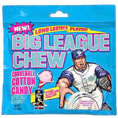 Big League Chew Cotton Candy Bubble Gum-Retro Candy