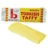 Bonomo Turkish Taffy Bar Banana-Old Fashioned Candy