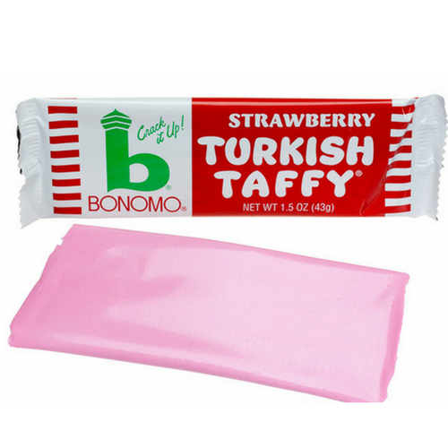 Bonomo Turkish Taffy- Strawberry