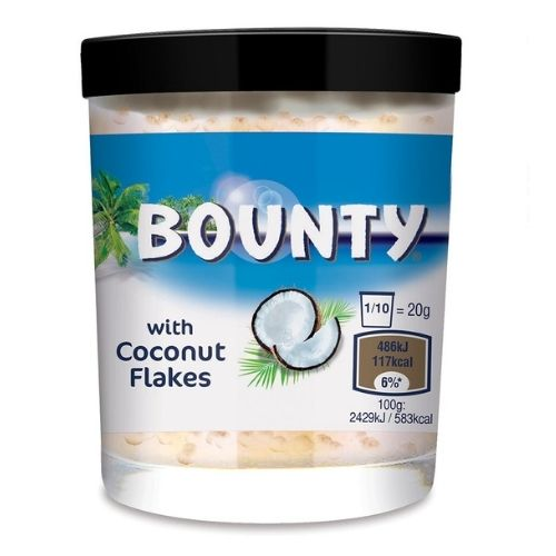 Bounty Spread with Coconut Flakes - 200 g