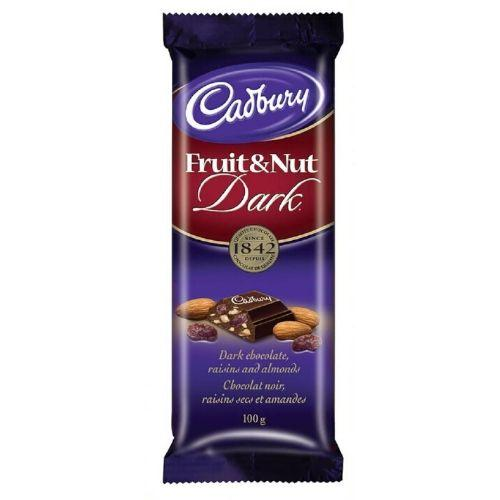 Cadbury Fruit & Nut Dark Chocolate Bars-Cadbury Canada