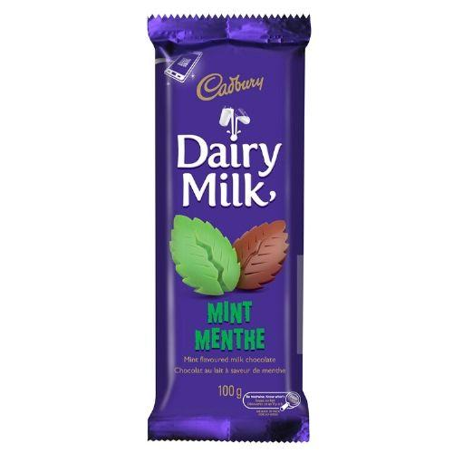 Cadbury Dairy Milk Mint-Canadian Cadbury Chocolate Bars
