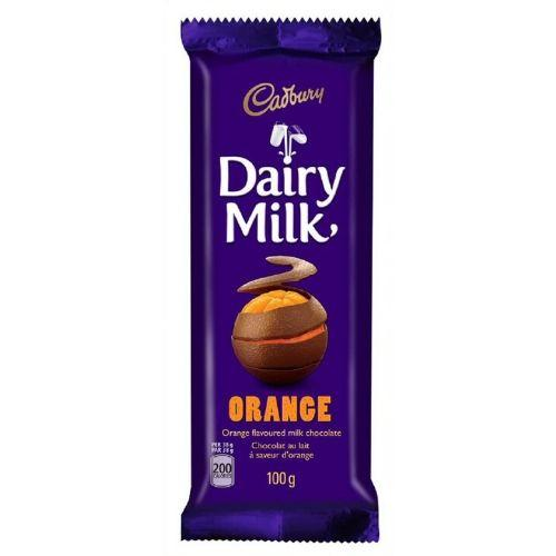 Cadbury Dairy Milk Orange-Canadian Cadbury Chocolate Bars