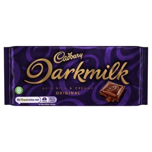 Cadbury Darkmilk Original UK - 85 g British Chocolate Bars