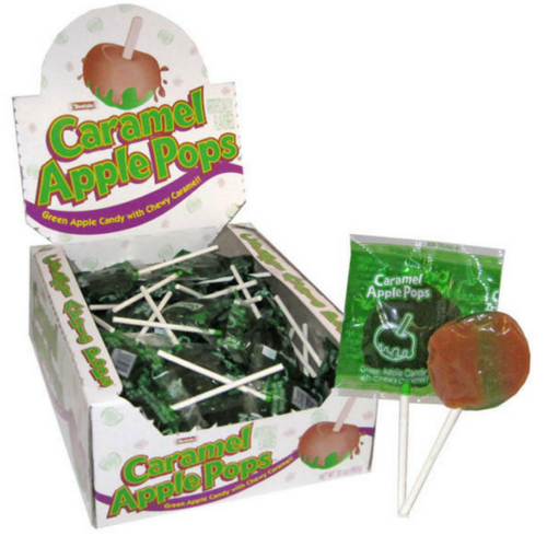 Caramel Apple Pops-Suckers Candy-CandyDistrict.com Online Candy Store Canada