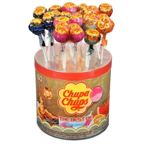 Chupa Chups Lollipops-Retro Candies