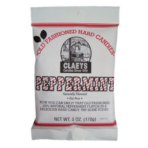 Claeys Peppermint Old Fashioned Hard Candies-Candy District Bulk Candy Store