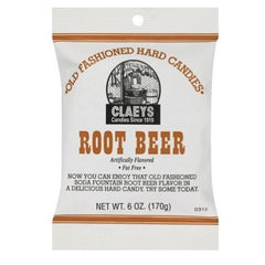 Claeys Root Beer Old Fashioned Hard Candies-Candy District Bulk Candy Store