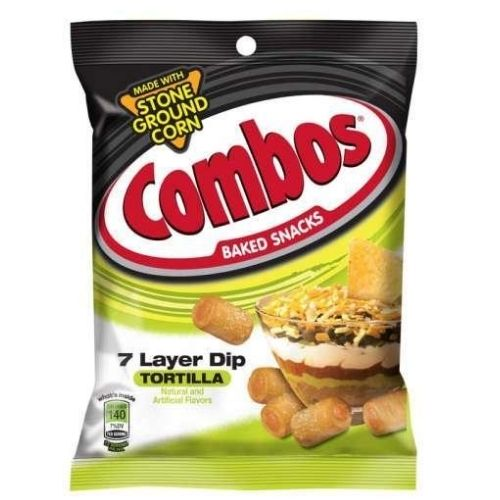 Combos 7 Layer Dip Tortilla  Baked American Snacks