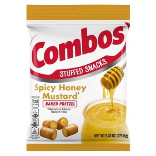 COMBOS Canada -  Spicy Honey Mustard Baked Pretzel - 6.3 oz.