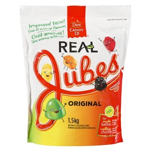 Dare Real Jubes Original Canadian Candy